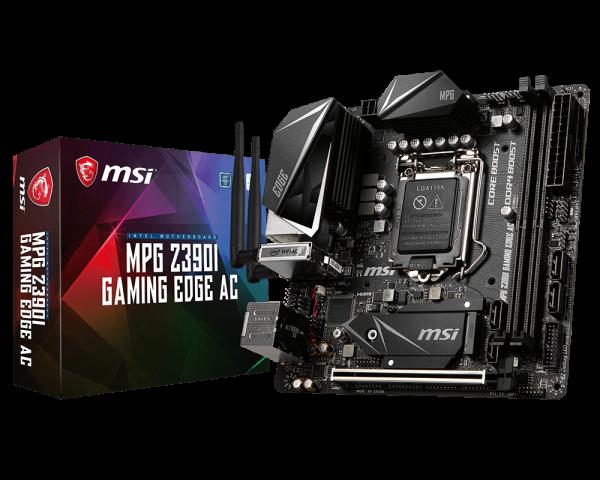 MSI Z390I Gaming Edge AC Itx Motherboard (Z390i Gaming Edge AC)