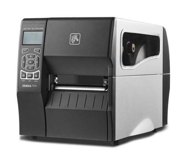 ZEBRA Dt Printer Zt230 203 Dpi Uk/au/jp/eu Cords ZT23042-D0P100FZ