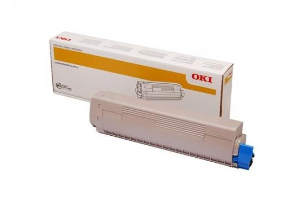 Oki Toner Cartridge For Mc873 Black 15k (45862832)