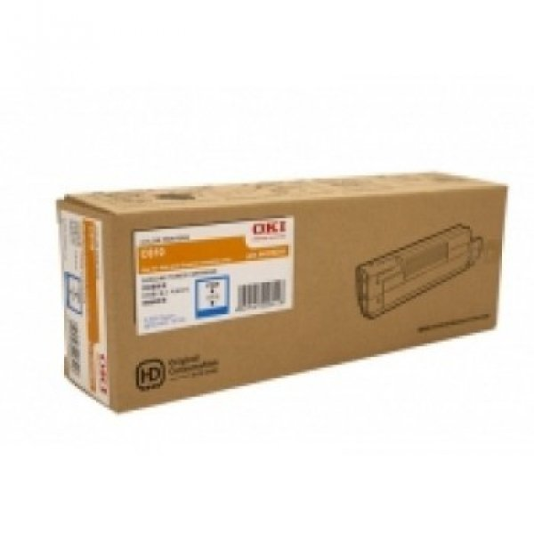 Oki Toner Cartridge For Mc853 Cyan 7.3k (45862843)