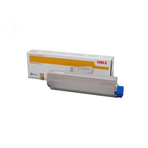 Oki Toner Cartridge For Mc853 Black 7k (45862844)