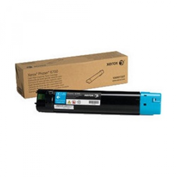 Fuji Xerox Cyan Toner Yield 12000 Pages For Phaser 6700dn (106R01515)
