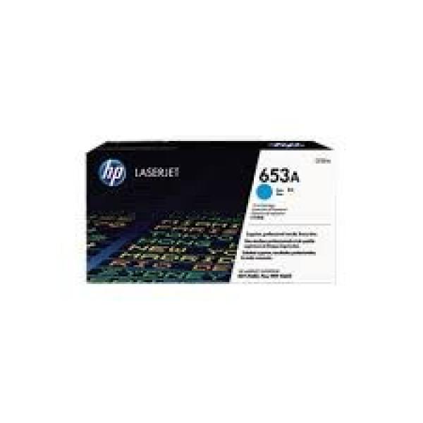 Hewlett Packard Hp 653a Cyan Laserjet Toner Cartridge (CF321A)