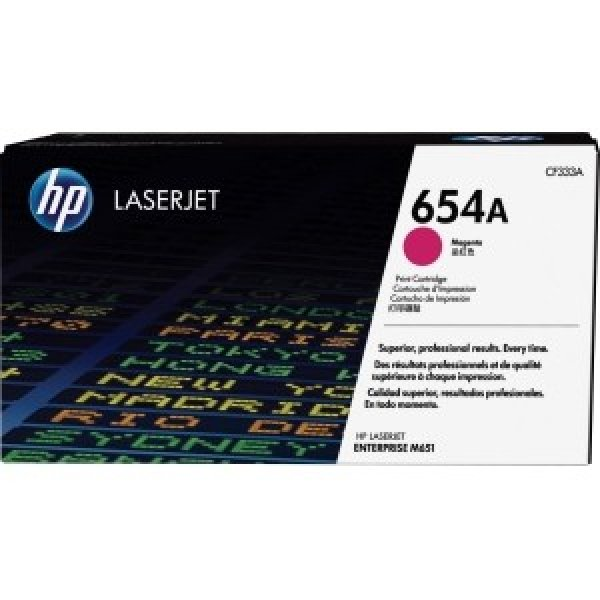 Hewlett Packard Hp 654a Magenta Laserjet Toner Cartridge (CF333A)