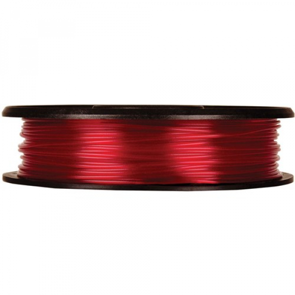 Makerbot Translucent Pla Small Translucent Red 0.2 Kg Filament For Mini/replicator (MP05763)