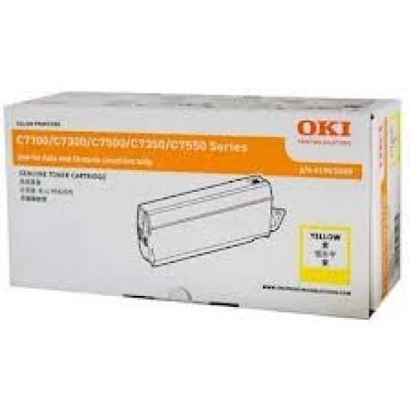 Oki Yellow Toner- C73/7350/7500 10k (41963009)