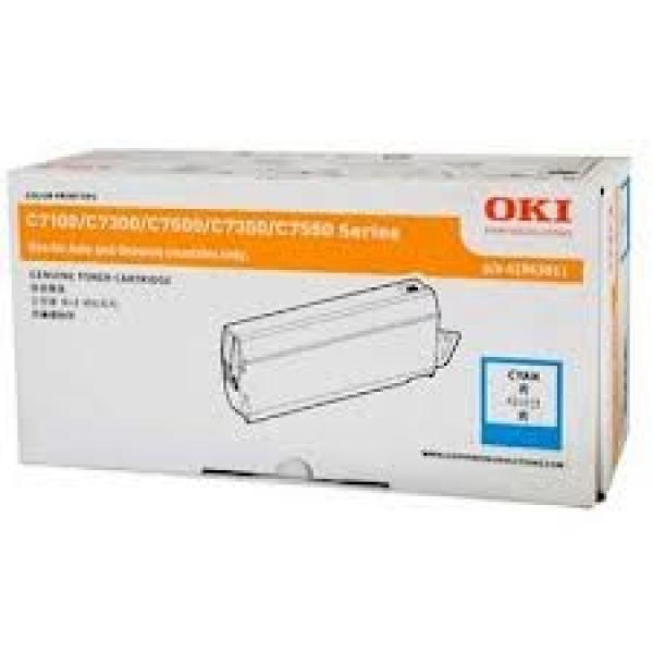 Oki Cyan Toner - C73/7350/7500 10k (41963011)