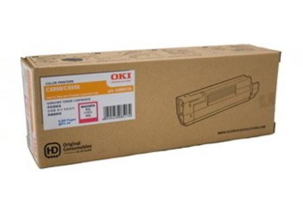 Oki Toner Cartridge Magenta C5850/5950/mc560 : 6000 Pages (43865726)
