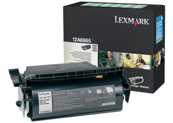 Lexmark Black (return Program) Toner Yield 30000 Pages For T620 T622 X620 (12A6865)