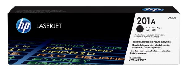 Hewlett Packard Hp 201a Black Laserjet Toner Cartridge (CF400A)