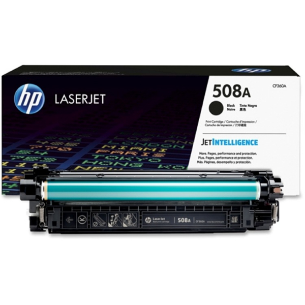Hewlett Packard Hp 508a Black Laserjet Toner Cartridge (CF360A)