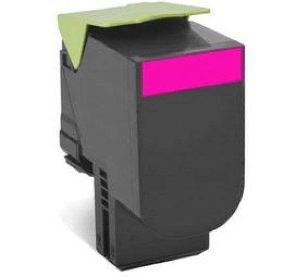 Lexmark 808xme Magenta Extra High Yield Corporate Toner Cartridge 4k Cx510 (80C8XME)