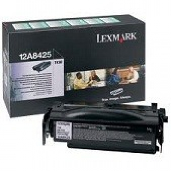 Lexmark Black Toner (return Program) Yield 12000 Pages For T430 (12A8425)