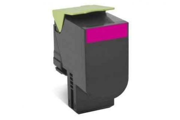 Lexmark 808sme Magenta Stanadrd Yield Toner Cartridge Corporate Cartridge 2k Cx310/410/5 (80C8SME)