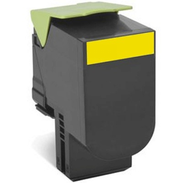 Lexmark 808hye Yellow High Yield Corporate Toner Cartridge 3k Cx410/cx510 (80C8HYE)