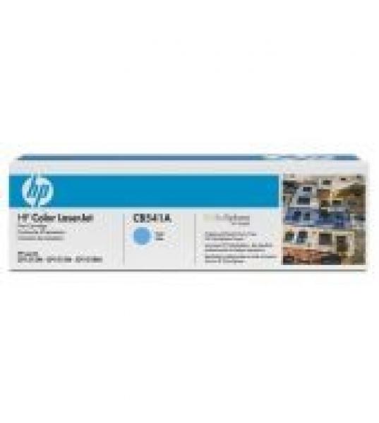Hewlett Packard Hp 125a Cyan Toner 1400 Page Yield For Clj Cm1312 Cp15xx (CB541A)