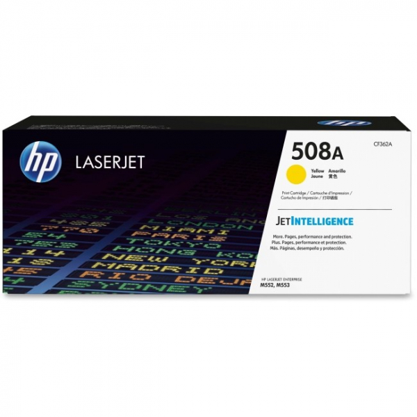 Hewlett Packard Hp 508a Yellow Laserjet Toner Cartridge (CF362A)