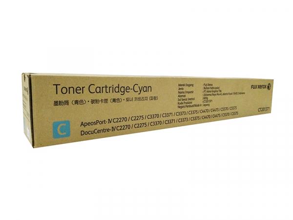 Fuji Xerox Docucentre Iv Cyan Toner C2270c3370c4470c5570 15k (CT201371)