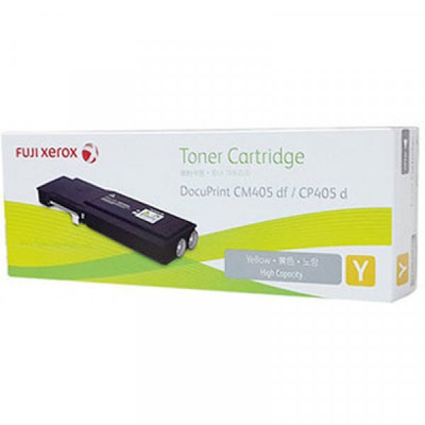 Fuji Xerox Yellow Toner High Capacity 11k For Docuprint Cp405d Cm405df (CT202036)