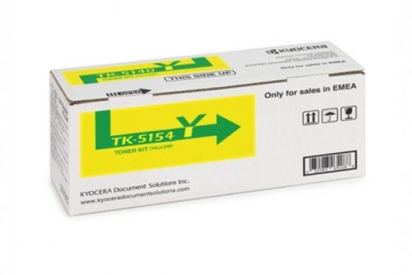 Kyocera Yellow Toner For M6535cidn/p6035cdn - 10k (TK-5154Y)