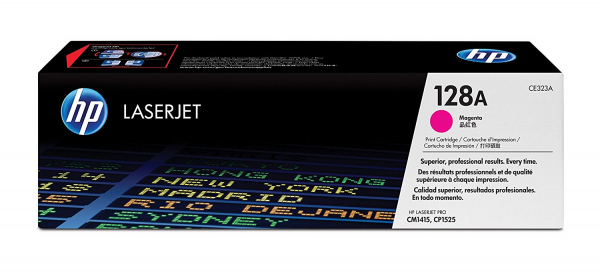 Hewlett Packard Hp 128a Magenta Toner 1.3k For Clj Pro Cp1525 Cm1415 (CE323A)