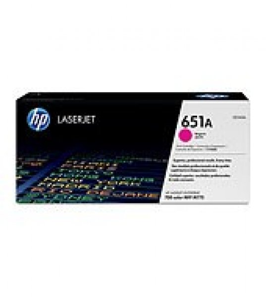 Hewlett Packard Hp Lj M775 Magenta Toner Cart Yield 16k Pages (CE343A)