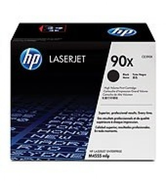 Hewlett Packard Hp 90x Black Toner 24000 Page Yield For M602 M603 M4555 (CE390X)