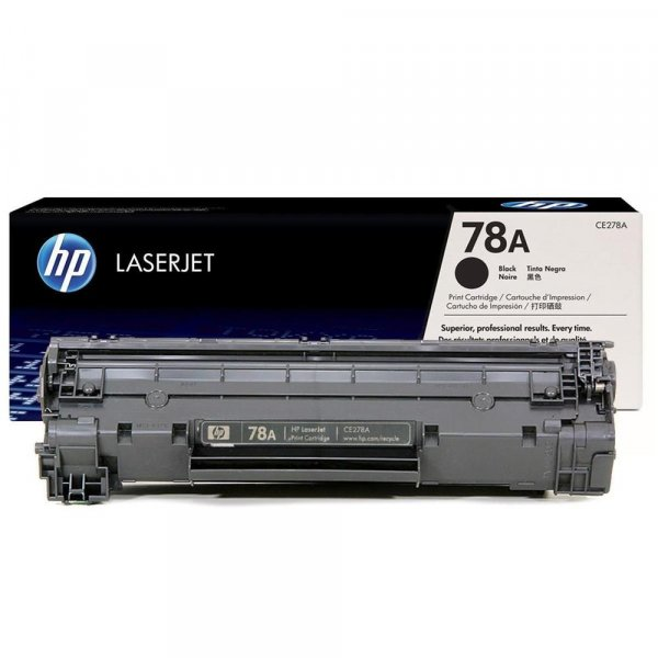 Hewlett Packard Hp 78a Black Toner 2100 Page Yield For Lj P1560 P1600 M1536 (CE278A)