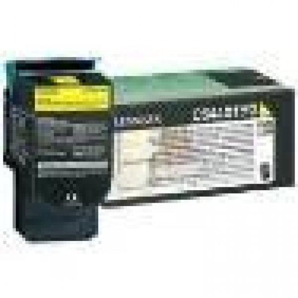 Lexmark 808xye Yellow Extra High Yield Corporate Toner Cartridge 4k Cx510 (80C8XYE)