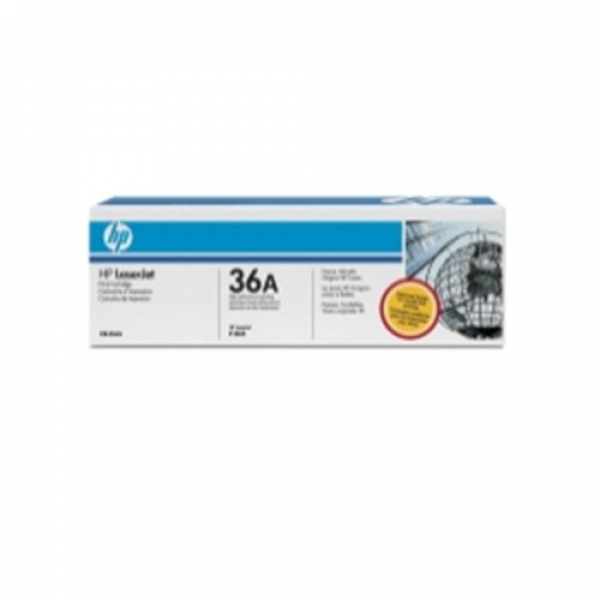 Hewlett Packard Hp 36a Black Toner 2000 Page Yield For Lj 1505 M1522mfp (CB436A)