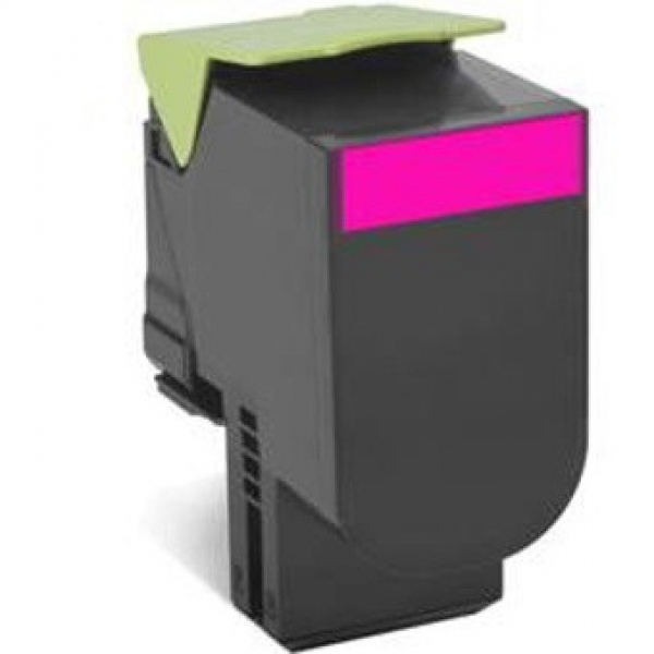 Lexmark 808m Magenta Return Toner Cartridge 1k Cx310/410/510 (80C80M0)