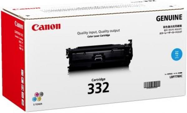 Canon Cyan Cartridge For Lbp7780cx (CART332C)
