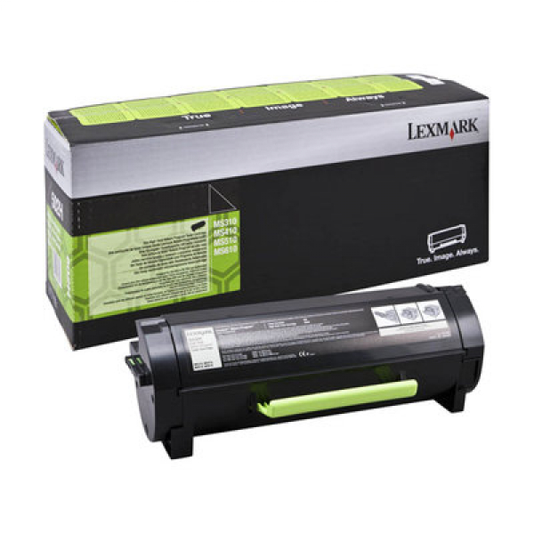 Lexmark Black High Yield 10k Black Toner For Mx310 Mx410 Mx511 Mx611 (60F3H0E)