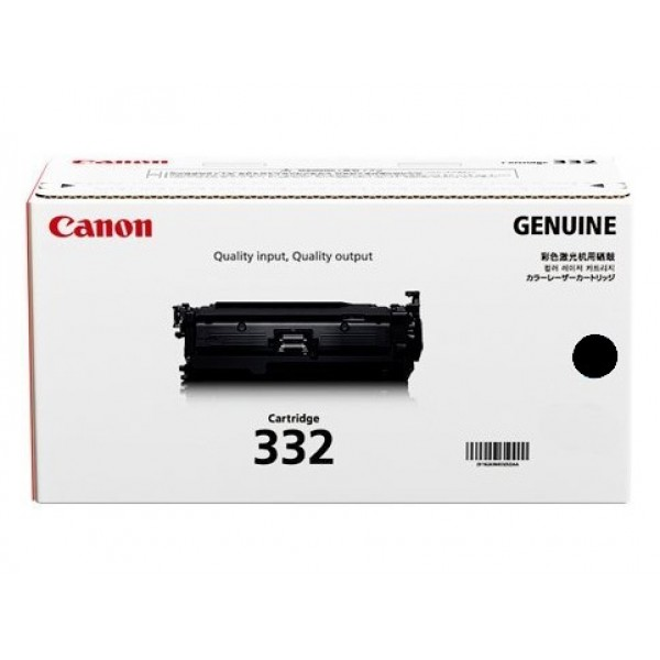 Canon Blk Cartridge For Lbp7780cx (CART332BK)