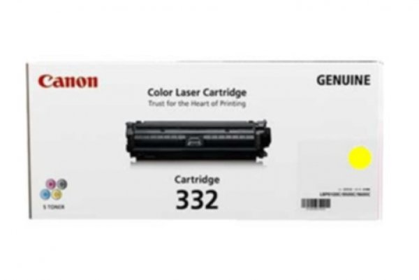 Canon Yellow Cartridge For Lbp7780cx (CART332Y)