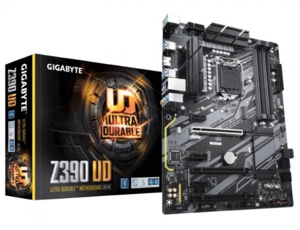 Gigabyte Intel Z390 UD Mother Board with 10+2 Digital PWM Design, 2-Way CrossFire™ Multi-Graphics (GA-Z390-UD)