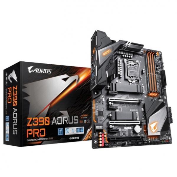 Gigabyte Z390 Aorus Pro LGA1151 9Gen Atx Motherboard 4xDDR4 6xPcie Hdmi 2xm.2 6xsata Raid Intel GB (GA-Z390-AORUS-PRO)
