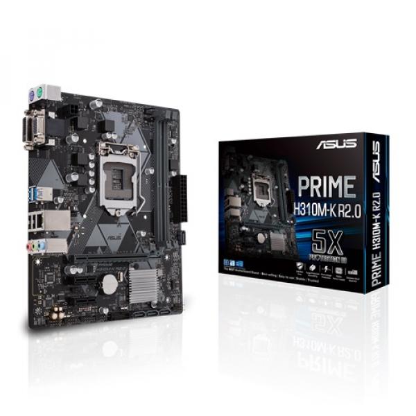 Asus Prime-H310M-K-R2-0 Matx Motherboard (PRIME H310M-K R2.0)