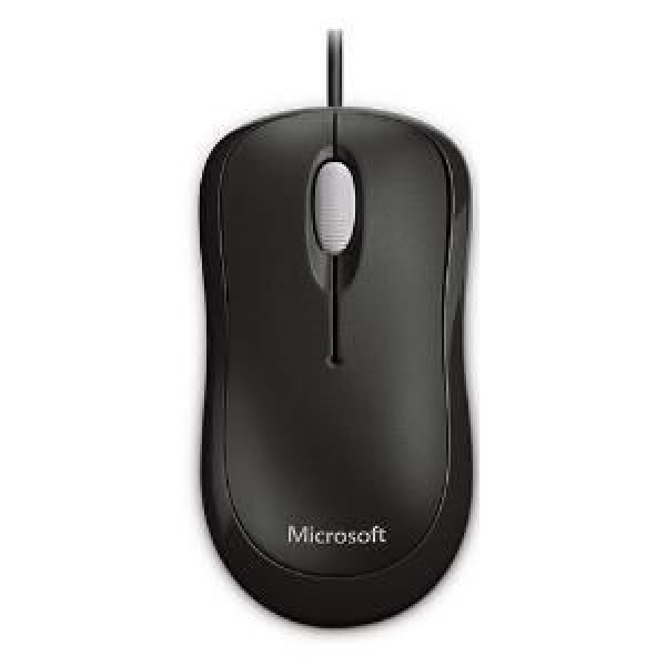 Microsoft L2 Basic Optical Mouse - Black (P58-00065)