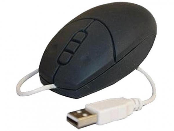 Cherry Washable Optical Mouse Black Usb (MW-2900-2)