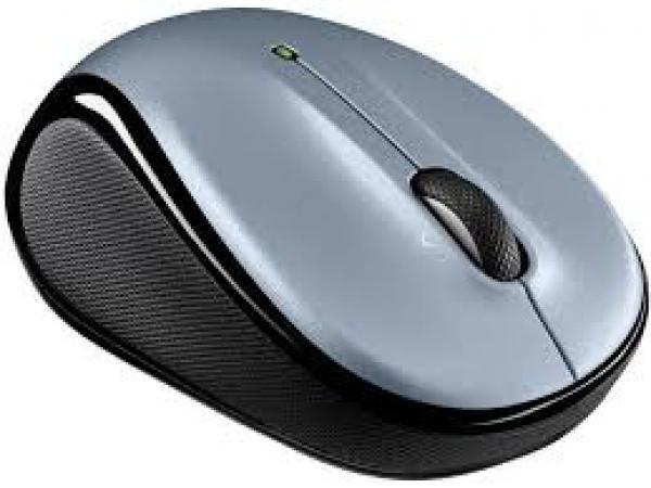 Logitech M325 Wireless Mouse - Light Silver (u) (910-002325)