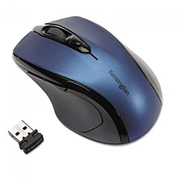 Kensington Pro Fit Midsize Wls Mouse (blue) (72421)