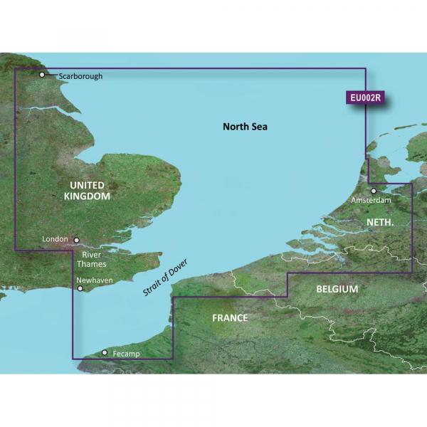 GARMIN MicroSD/SD Card: HXEU002R - S/E UK-Belux Inland Waters (010-C0761-20)