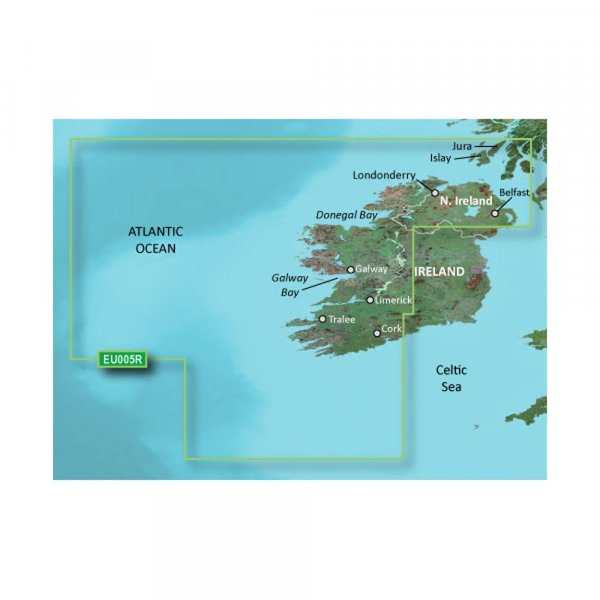 GARMIN MicroSD/SD Card: HXEU005R - Ireland West Coast (010-C0764-20)