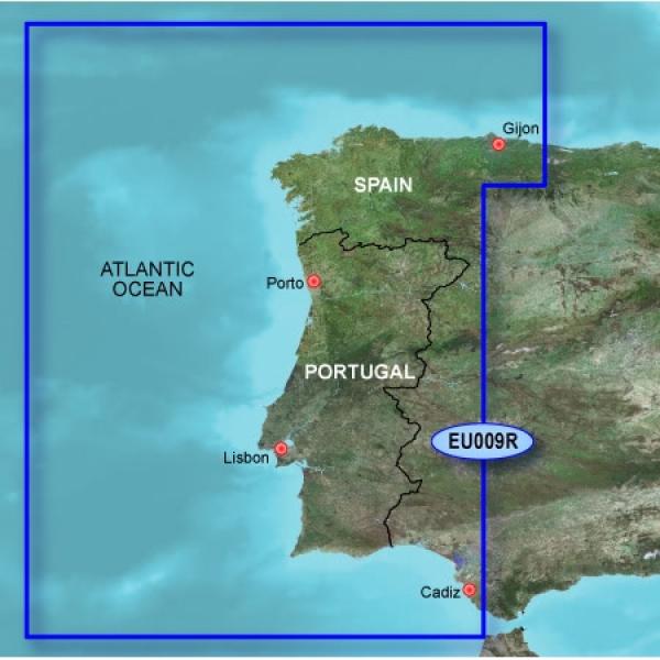 GARMIN Microsd/SD Card: HXEU009R - Portugal & Northwest Spain (010-C0767-20)