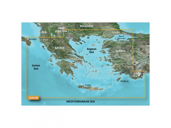 GARMIN MicroSD/SD Card: HXEU015R - Aegean Sea & Sea Of Marmara (010-C0773-20)