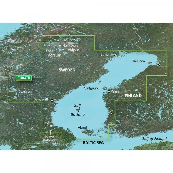 GARMIN MicroSD/SD Card: HXEU047R - Gulf Of Bothnia (010-C0783-20)