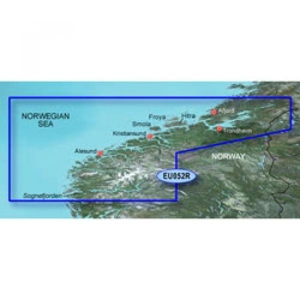 GARMIN MicroSD/SD Card: HXEU052R - Sognefjorden - Svefjorden (010-C0788-20)