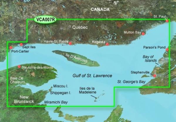 GARMIN MicroSD/SD Card: VCA007R-Les Mechins-St. George's Bay (010-C0693-00)