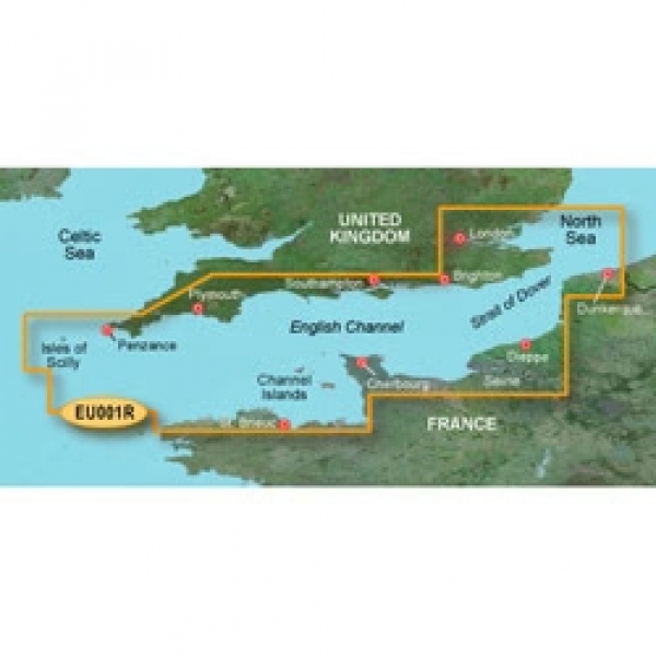 GARMIN MicroSD/SD Card: VEU001R-English Channel (010-C0760-00)